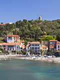 A View of the Beach at Collioure in Languedoc-Roussilon, France, Europe. Photographic Print by David Clapp