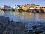 Breakwater Cove and Fisherman's Wharf, Monterey, California, United States of America, North Americ Photographic Print by Richard Cummins