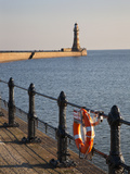 Roker Pier and Lighthouse, Sunderland, Tyne and Wear, England, United Kingdom, Europe Photographic Print by Mark Sunderland