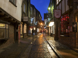 The Shambles at Christmas, York, Yorkshire, England, United Kingdom, Europe Photographic Print by Mark Sunderland