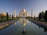 Taj Mahal, UNESCO World Heritage Site, Agra, Uttar Pradesh, India, Asia Photographic Print by Ben Pipe
