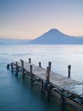 Ben Pipe - Santa Cruz La Laguna, Lake Atitlan, Western Highlands, Guatemala, Central America Fotografická reprodukce