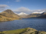 Wastwater with Yewbarrow, Great Gable, and Scafell Pike, Wasdale, Lake District National Park, Cumb Photographic Print by James Emmerson