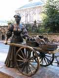 Molly Malone Statue, Grafton Street, Dublin, Republic of Ireland, Europe Photographic Print by Hans-Peter Merten