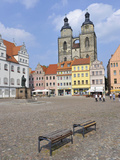 Wittenberg, UNESCO World Heritage Site, Saxony, Germany, Europe Photographic Print by Michael Runkel