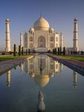 Taj Mahal, UNESCO World Heritage Site, Agra, Uttar Pradesh, India, Asia Reprodukcja zdjęcia autor Ben Pipe