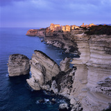 The Falaise and Haute Ville at Dawn, Bonifacio, South Corsica, Corsica, France, Mediterranean, Euro Photographic Print by Stuart Black