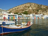 Klima, Old Fishing Village, Milos Island, Cyclades Islands, Greek Islands, Aegean Sea, Greece, Euro Photographie par  Tuul