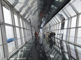 The Observation Bridge with Glass Floor on the 94th Floor of the Shanghai World Financial Center (S Photographic Print by Amanda Hall