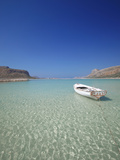 Balos Bay and Gramvousa, Chania, Crete, Greek Islands, Greece, Europe Fotoprint van Sakis Papadopoulos
