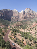 View from the Zion to Mount Carmel Highway, Zion National Park, Utah, United States of America, Nor Photographic Print by Richard Maschmeyer