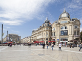 The Place De La Comedie, Montpellier, Languedoc-Roussillon, France, Europe Photographic Print by David Clapp