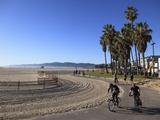Venice Beach, Los Angeles, California, United States of America, North America Fotoprint van Wendy Connett