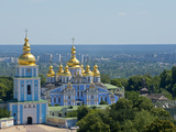 St. Michael's Church, Kiev, Ukraine, Europe Photographic Print by Graham Lawrence