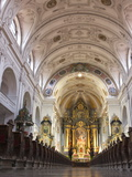 St. Anne's Basilica, Altoetting (Altotting), Bavaria, Germany, Europe Photographic Print by Michael DeFreitas