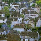 Medieval Houses, St. Cirq Lapopie, Lot, Midi-Pyrenees, France, Europe Photographic Print by Stuart Black