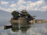 Lesser Putuo Island, Erhai Lake, Dali, Yunnan, China, Asia Photographic Print by Rolf Richardson