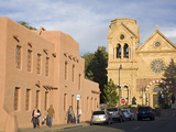 Cathedral Basilica of St. Francis of Assisi, Santa Fe, New Mexico, United States of America, North  Photographic Print by Richard Cummins