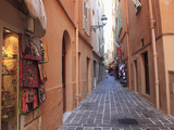 Street Scene, Le Rocher (The Rock), Monaco, Cote D'Azur, Mediterranean, Europe Photographic Print by Wendy Connett