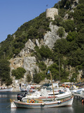 Vathy Harbour, Ithaca, Ionian Islands, Greek Islands, Greece, Europe Photographic Print by Rolf Richardson