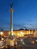 Independence Square, Maidan, Kiev, Ukraine, Europe Photographic Print by Graham Lawrence