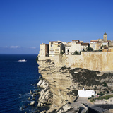 Haute Ville on Cliff Edge, Bonifacio, South Corsica, Corsica, France, Mediterranean, Europe Photographic Print by Stuart Black