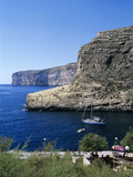 View Along Cliffs, Xlendi, Gozo, Malta, Mediterranean, Europe Photographic Print by Stuart Black