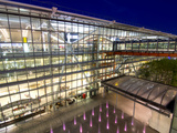 Heathrow Airport Terminal 5 Building at Dusk, London, England, United Kingdom, Europe Photographic Print by Charles Bowman