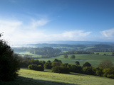 Newlands Corner View, Near Guilford, Surrey Hills, North Downs, Surrrey, England, United Kingdom, E Photographic Print by John Miller