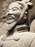 Close-Up of Terracotta Army Warrior, Xian, Shaanxi Province, China, Asia Photographic Print by Neale Clark