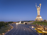 Rodina Mat Statue and the Great Patriotic War Museum, Kiev Ukraine, Europe Photographic Print by Graham Lawrence