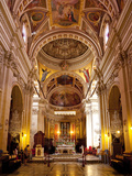 Interior, Gozo Cathedral, Rabat (Victoria), Gozo, Malta, Europe Photographic Print by Nick Servian