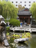 Chinese Garden of Friendship in Darling Harbour, Central Business District, Sydney, New South Wales Photographic Print by Richard Cummins