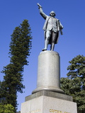 Captain Cook Statue in Hyde Park, Central Business District, Sydney, New South Wales, Australia, Pa Photographic Print by Richard Cummins