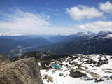 View from the Top of Whistler Mountain, Whistler, British Columbia, Canada, North America Photographic Print by Martin Child
