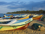 Newer Post 2004 Tsunami Foreign-Donated Fishing Boats on This Popular Surf Beach, Arugam Bay, Easte Photographic Print by Robert Francis