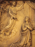 The Annunciation, Church Reredos, Sainte-Marie Des Batignolles Church, Paris, France, Europe Photographic Print by  Godong