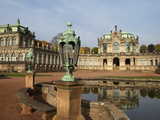 Zwinger Palace, Dresden, Saxony, Germany, Europe Photographic Print by Hans-Peter Merten
