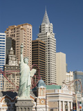 New York-New York Hotel and Replica of Statue of Liberty, Las Vegas, Nevada, United States of Ameri Photographic Print by Richard Maschmeyer