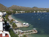 View over Resort and Bay, Port De Pollenca (Puerto Pollensa), Mallorca (Majorca), Balearic Islands, Photographic Print by Stuart Black