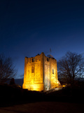 Guildford Castle at Dusk, Guildford, Surrey, England, United Kingdom, Europe Photographic Print by John Miller