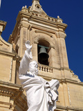 Church at Gharb, Gozo, Malta, Mediterranean, Europe Photographic Print by Hans-Peter Merten