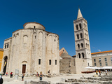 Church of St. Donat, Zadar, Zadar County, Dalmatia Region, Croatia, Europe Photographic Print by Emanuele Ciccomartino