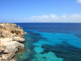 Rocks and Sea, Trapani, Favignana Island, Sicily, Italy, Mediterranean, Europe Photographic Print by Vincenzo Lombardo