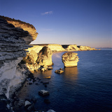 The Falaise at Sunset, Bonifacio, South Corsica, Corsica, France, Mediterranean, Europe Photographic Print by Stuart Black