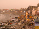 Man Mandir Ghat, Varanasi, Uttar Pradesh, India, Asia Photographic Print by Ben Pipe