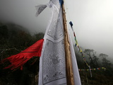 Prayer Flags, Khumbu Region, Nepal, Asia Photographic Print by David Pickford