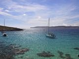 Blue Lagoon, Comino Island, Malta, Mediterranean, Europe Photographic Print by Simon Montgomery