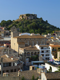 Ruined Castle Above Old Town, Begur, Costa Brava, Catalonia, Spain, Europe Photographic Print by Stuart Black