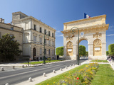 The Arc De Triomphe, Rue Foch, Montpellier, Languedoc-Roussillon, France, Europe Photographic Print by David Clapp